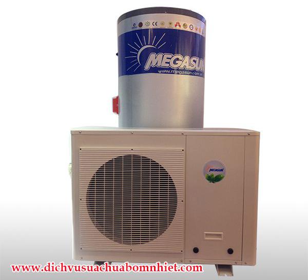 Máy bơm nhiệt dân dụng Megasun MGS – 2HP 400L cho hộ gia đình